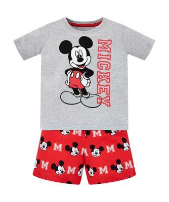 Disney mickey mouse shortie pyjamas