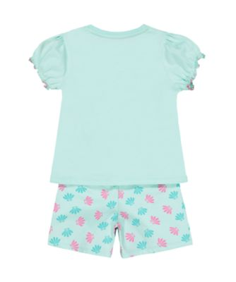 Disney princess ariel shortie pyjamas