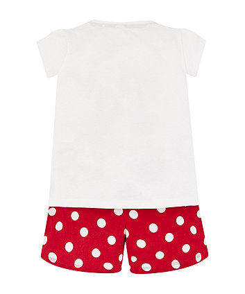 Disney minnie mouse shortie pyjamas