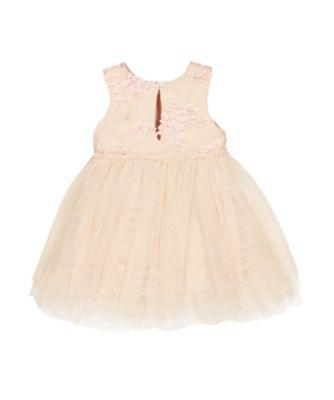 pink flower twofer dress