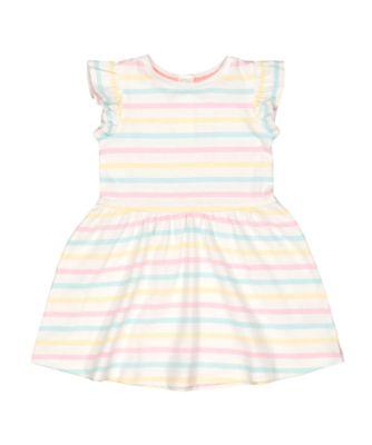 pastel striped dress
