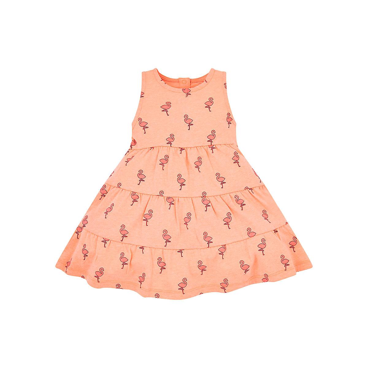 neon flamingo dress