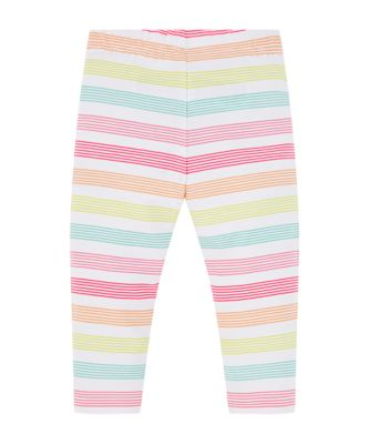 multicolour stripe leggings