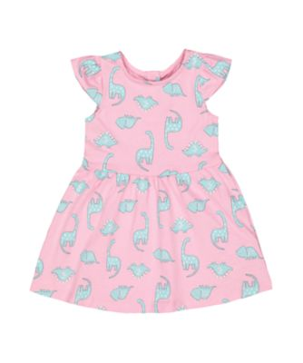 pink dinosaur dress