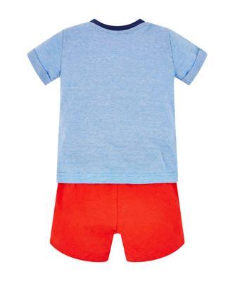 boat t-shirt and shorts set
