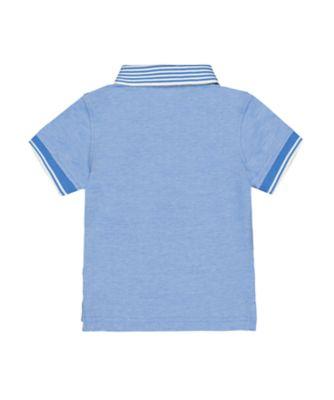 blue crab polo shirt