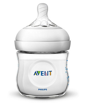 Philips Avent SCF030/27 natural newborn feeding bottle - 125ml/4oz double pack