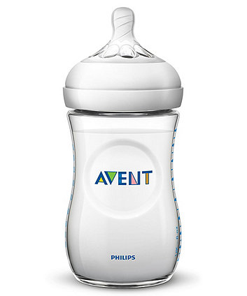 Philips Avent SCF033/37 natural feeding bottle -  260ml/9oz triple pack