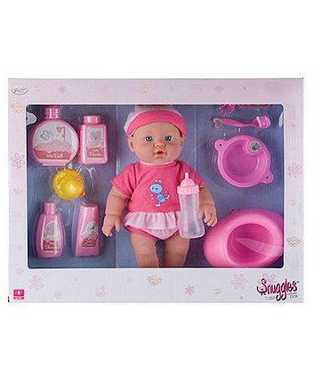 Baby Snuggles Deluxe 30cm Doll with 10 Accessories