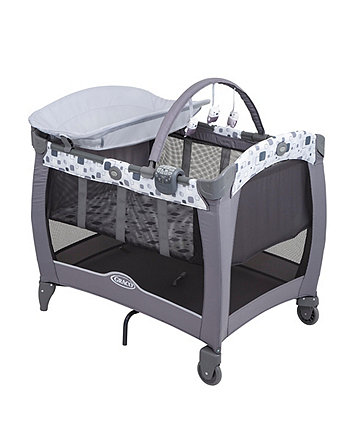 Graco contour electra travel cot - block party