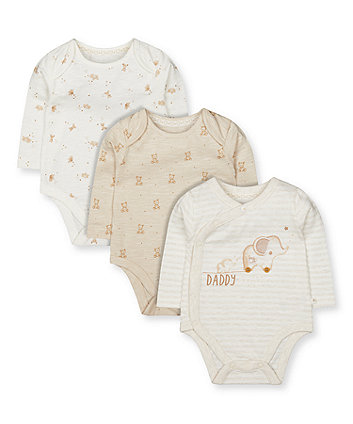 my first daddy bodysuits - 3 pack
