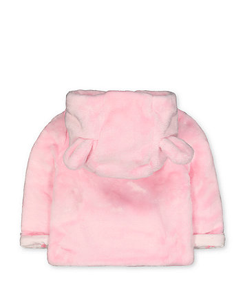 my first fluffy pink mouse jacket
