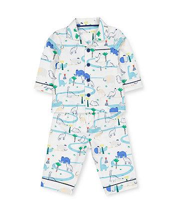 dinosaur friends woven pyjamas