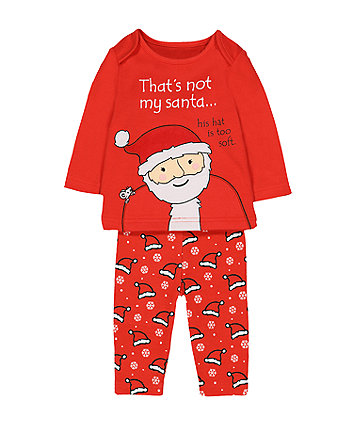 that's not my santa pyjamas