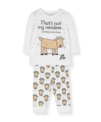 that's not my reindeer pyjamas
