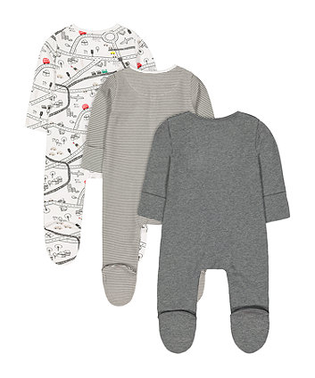 little city sleepsuits