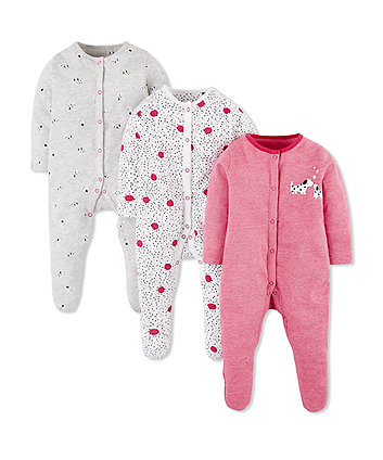 1875a89ed0d Baby Girl Sleepsuits | Mothercare