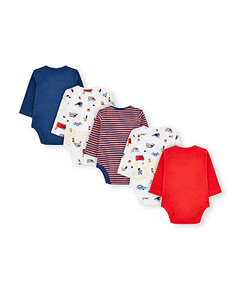 little rescue animals bodysuits - 5 pack