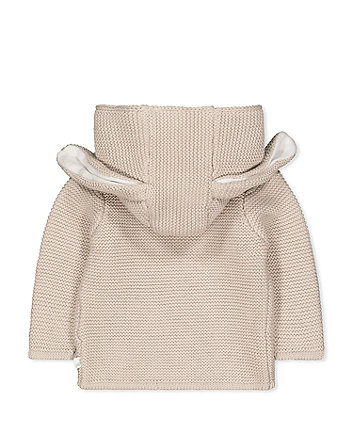 peter rabbit beige knit cardigan
