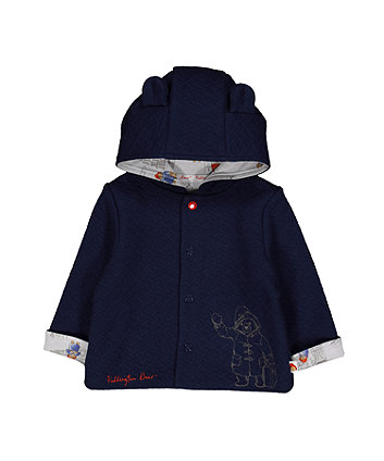 paddington bear textured jacket