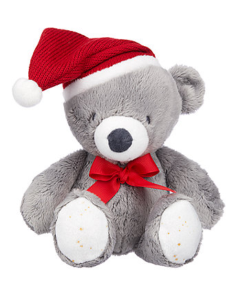 my first christmas bear plush