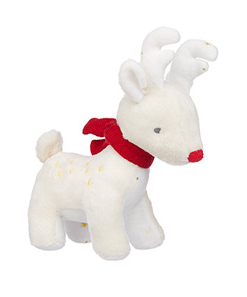 my first christmas reindeer soft plush toy