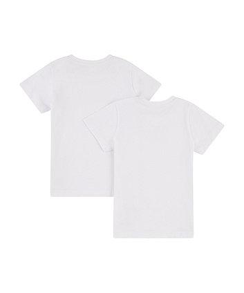 white logo t-shirt - 2 pack