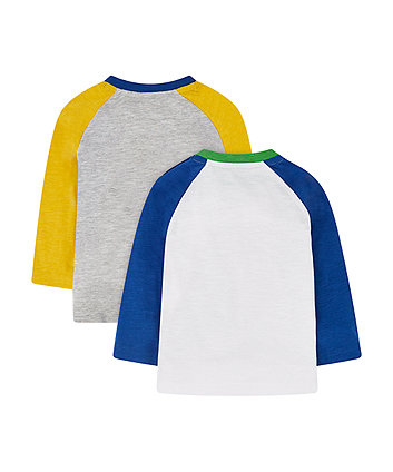 vehicle raglan t-shirts - 2 pack