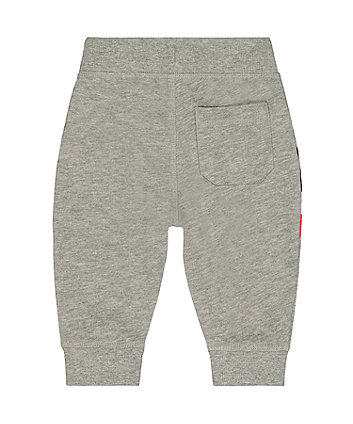grey stripe joggers