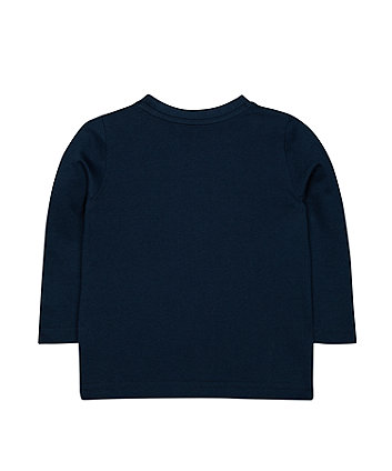 navy football t-shirt