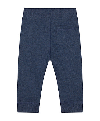 navy awesome joggers