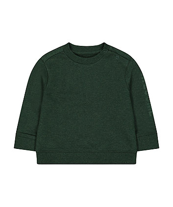 dark green awesome sweat top