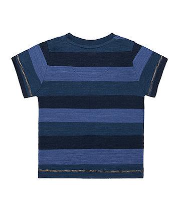 navy stripe adventure t-shirt
