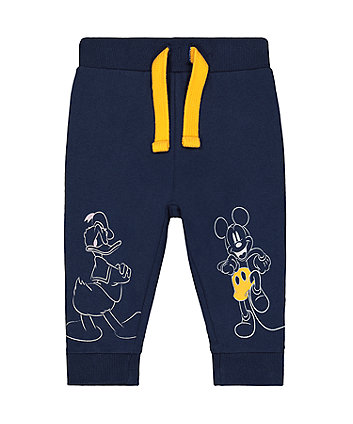 Disney mickey mouse friends navy joggers