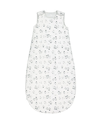 mothercare winter penguin 3.5 tog sleep bag - 18-36 months