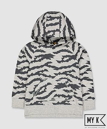 my k zebra hoodie
