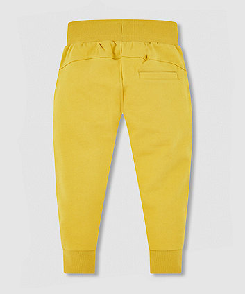 my k mustard joggers with knee detail