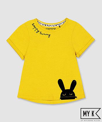 my k mustard bunny t-shirt