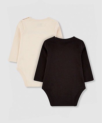 my k happy bodysuits - 2 pack