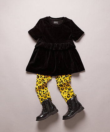 my k black sparkle boots