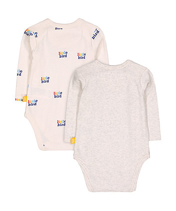 little bird slogan bodysuits
