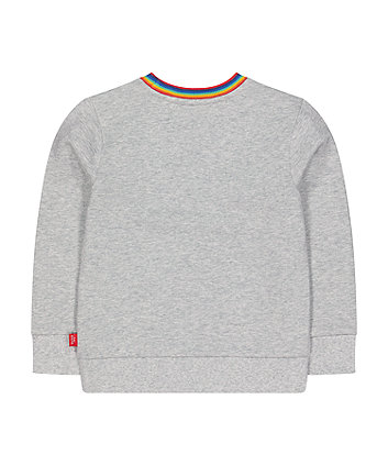 little bird grey sweat top