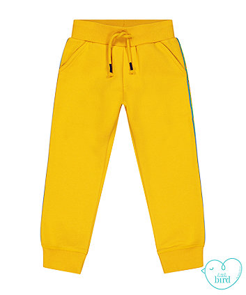 little bird mustard side tape joggers