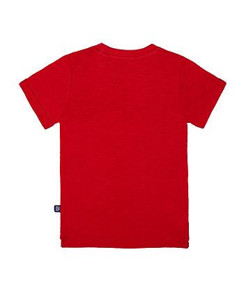little bird red star t-shirt