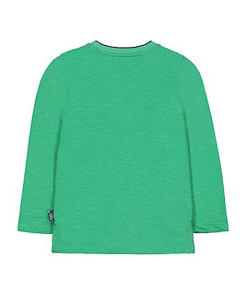 little bird green play t-shirt