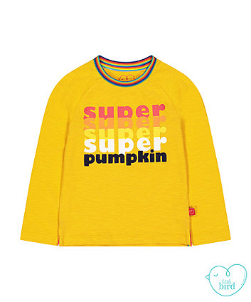 little bird mustard super pumpkin t-shirt