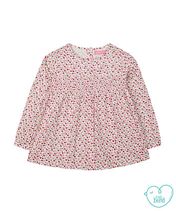 little bird floral blouse