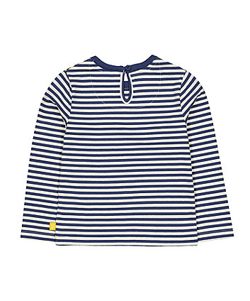 little bird navy stripe stars t-shirt