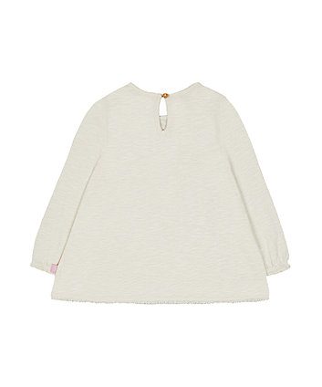 little bird smock blouse