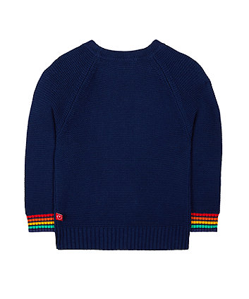 little bird navy jumper